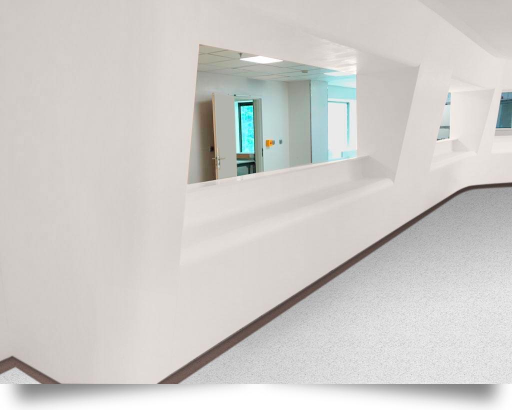 banque d'accueil hopital pierre acrylique