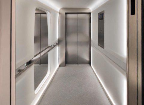 aménagement ascenseurs pierre acrylique Villeparisis